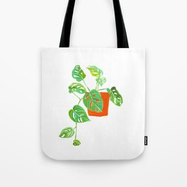 Monstera Obliqua Tote Bag
