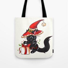 Santa Sorcery Tote Bag