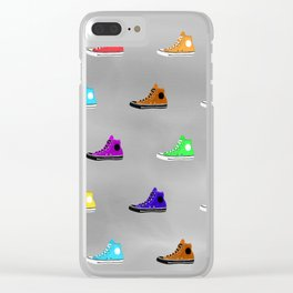 Rock shoes Clear iPhone Case