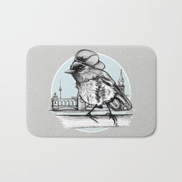 Berlin Sparrow Bath Mat