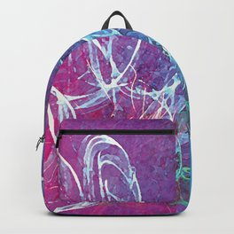 Colorful Sketchy Squiggle Backpack