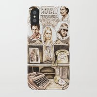 royal tenenbaums iPhone & iPod Cases featuring The Royal Tenenbaums by Aaron Bir by Aaron Bir