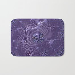 The relationships - An abstract fractal illustration Bath Mat
