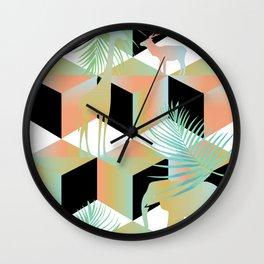 mammalia II Wall Clock