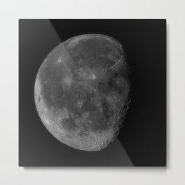 Moon (High Detail) Metal Print