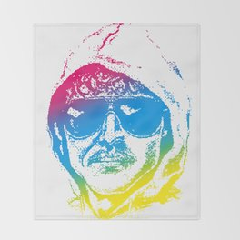 Colorful Unabomber Throw Blanket