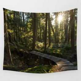 North Shore Trails in the Woods Wall Tapestry