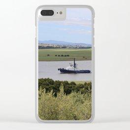 Tug -Tamar River -Tasmania* Clear iPhone Case