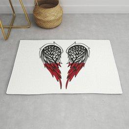 Polish wings art Rug