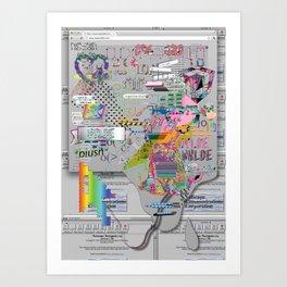 internetted Art Print