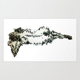 swiggles! Art Print
