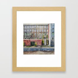 Newmarket Mills from Heron Point Framed Art Print