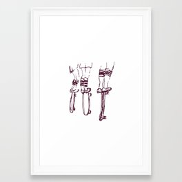 I wanna see too! Framed Art Print