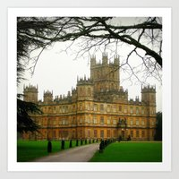 downton abbey Art Prints featuring Downton Abbey Licious  by seardig