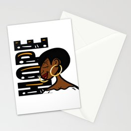 When Black Women Hope... Stationery Cards