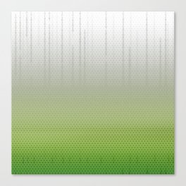 Sombra Skin Glitch Pattern Canvas Print