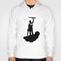 """evil dead Hoodies featuring Bruce Campbell Evil Dead """"Groovy"""" by Minerva Torres-Guzman"""