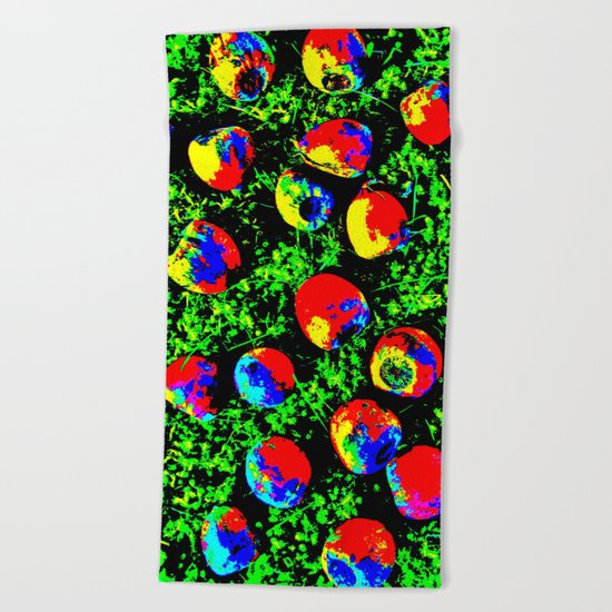 Colorful Nuts Beach Towel