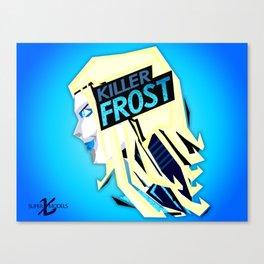 KillerFrost XSuperModels Remix PopHead Canvas Print