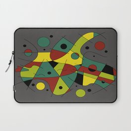Abstract #226 The Cellist #2 Laptop Sleeve
