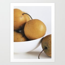 Asian Pears Art Print