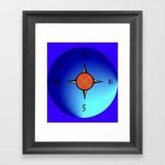 Find your Way! Framed Art Print