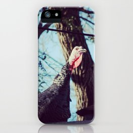 Turkey On The Roof iPhone Case