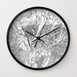 Rotting in Essence #1 Wall Clock