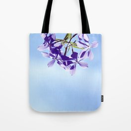 lost in blue Tote Bag