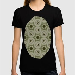 Fractal Cogs n Wheels in CMR02 T-shirt