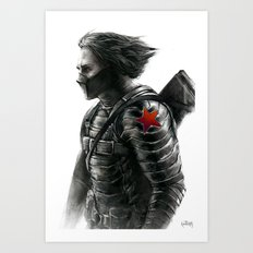 The Winter Soldier Art Print