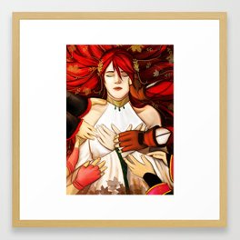 Pyrrha Nikos Memorium Framed Art Print