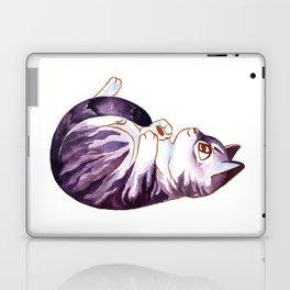 Purple Kitty Laptop & iPad Skin