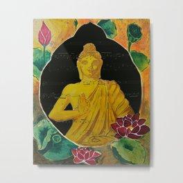 Buddha Dream Metal Print