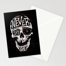 Never Say Die... Stationery Cards