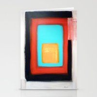 rothko Stationery Cards featuring Living Rothko by Heaven7