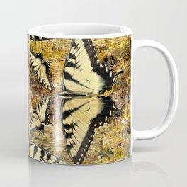 Butterfly Octagon Coffee Mug