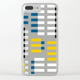 ALBERS TRIBUTE Clear iPhone Case