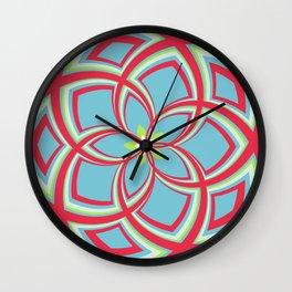 Spiral Rose Pattern C 3/4 Wall Clock