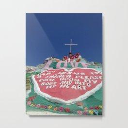 Salvation Mountain II Metal Print