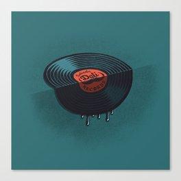Hot Record Canvas Print