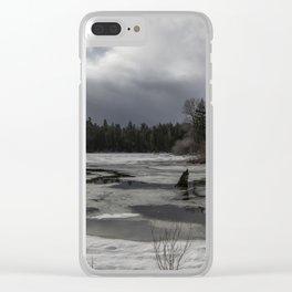 An Intricate Landscape Clear iPhone Case