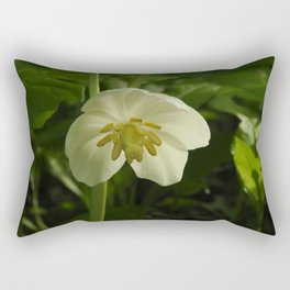 Mayapple blossom Rectangular Pillow