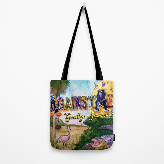"""""""Goodbye Gainesville"""" by Cap Blackard Tote Bag"""