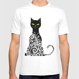 ornamental cat T-shirt