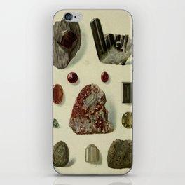 Garnet Minerals iPhone Skin