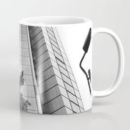 Modern Skyscraper BW Coffee Mug