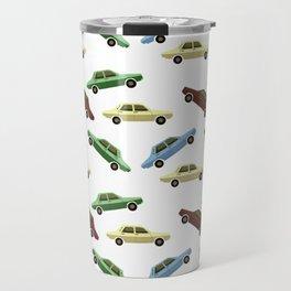 First car Pattern Travel Mug