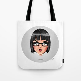 Britney Cartoon: Womanized Tote Bag