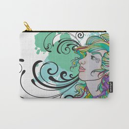 Jelly Mermaid Carry-All Pouch